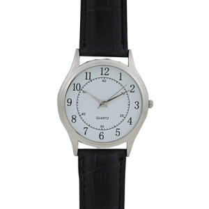 Basic Leatherette Gents Watch - PDC/G/NE9-0W0TE - Image 1