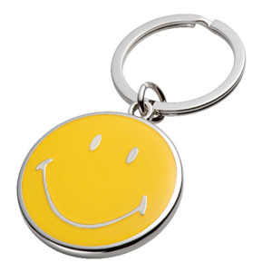 Smiley Face Key Ring - PDC/G/EYM-BX1RO - Image 1