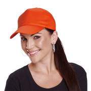 5 Panel Cotton Cap With Hard Front - PDC/C/HJ5-X5N4L - Image 1