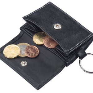 Genuine Leather Mini Purse And Keyholder - PDC/G/JDN-JVGN4 - Image 1