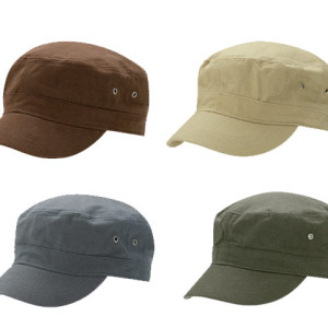 Unstructured Cotton Twill Military Style Cap - PDC/C/N66-UO7RJ - Image 2