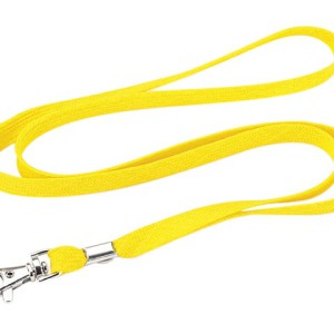 Woven Lanyard With Metal Clip - PDC/G/NS9-3EVWH - Image 1