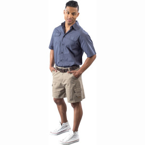 Gents cargo shorts - PDC/C/92T-SL4S9 - Image 1