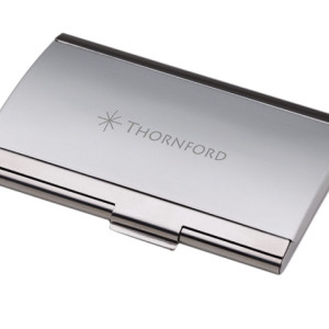 2-Tone Metal Business Card Case - PDC/G/F5C-O7HVW - Image 1