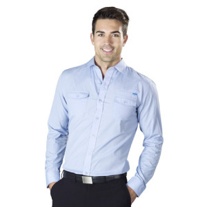 Bayport Long Sleeve Mens Shirt - PDC/C/5D9-9T5VQ - Image 1