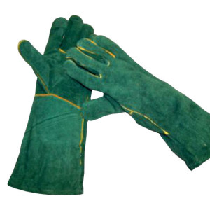 Green Lined Gloves - PDC/C/7XD-EZLHG - Image 1