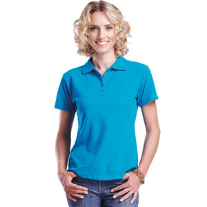 200g Pique Knit Golf Shirt - PDC/C/HKQ-OY69D - Image 1