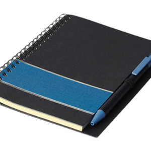 Coloured Stripe Notebook With Pen - PDC/G/AZT-LGXY0 - Image 2