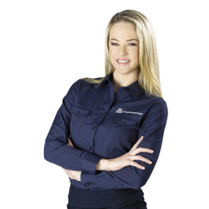 Bayport Long Sleeve Ladies Shirt - PDC/C/NKQ-N4G1X - Image 1
