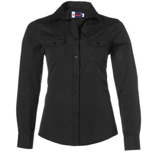Bayport Long Sleeve Ladies Shirt - PDC/C/NKQ-N4G1X - Image 2
