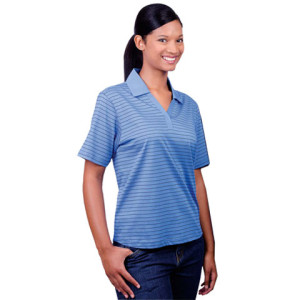 180G Ladies Double Mercerized Yarn Dyed Golfer - PDC/C/580-OALEI - Image 1