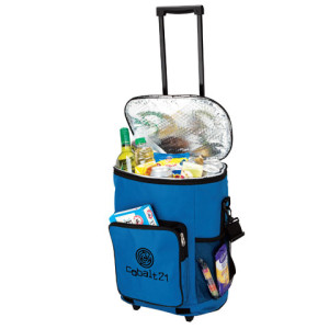 Collapsible Trolley Cooler - 600D/PEVA Lining - PDC/G/WYQ-B1WFI - Image 1