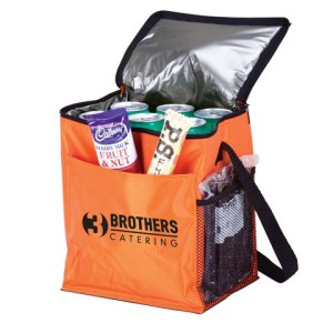 12-Can Cooler With 2 Exterior Pockets - 70D/PEVA Lining - PDC/G/FJE-PNQU2 - Image 1