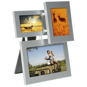 3 in 1 Aluminium Photo Frame - PDC/G/V9D-KKMNB - Image 1