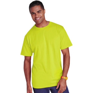150G Barron Poly Cotton/Safety T-Shirt - PDC/C/1WU-C3DHR - Image 1
