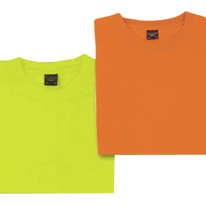 150G Barron Poly Cotton/Safety T-Shirt - PDC/C/1WU-C3DHR - Image 2