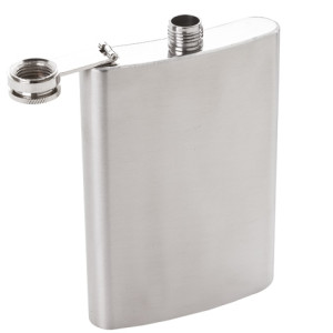 Stainless Steel Hip Flask - PDC/G/3ED-C1Q5Q - Image 1