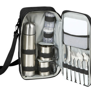 13 Piece Travel Picnic Set - PDC/G/3E8-7B9MF - Image 1