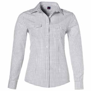 Aston Long Sleeve Ladies Shirt - PDC/C/38K-QQF51 - Image 2