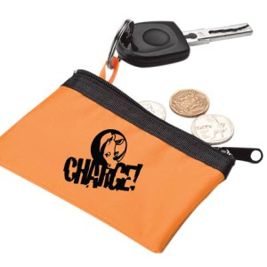 Zippered Pouch With Split Ring - PDC/G/S0J-3K6AO - Image 1