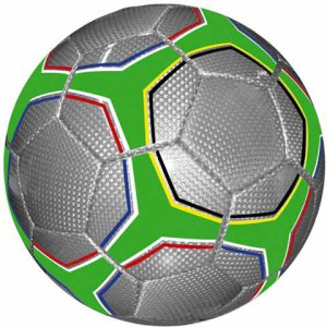 Hand Sewn Official Soccer Ball - PDC/G/VZA-WHRBI - Image 1