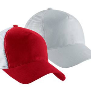 5 Panel Brushed Cotton Twill Cap - PDC/C/HR1-CRL60 - Image 2