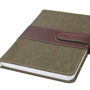 A5 Canvas Notebook - PDC/G/G02-AFW2C - Image 1
