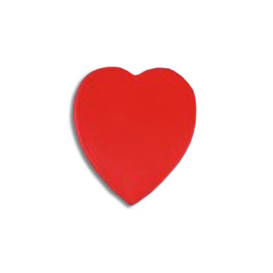 Heart Shaped Badge - PDC/G/82V-T8H8E - Image 1