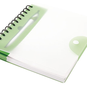 2 Tone Snap Cover Notebook And Matching Pen - PDC/G/KKG-0E2GV - Image 1
