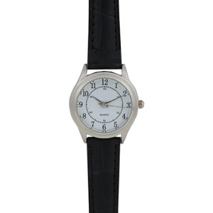 Basic Leatherette Ladies Watch - PDC/G/U5Z-B5HKN - Image 1