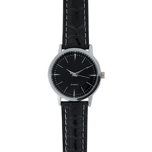 Basic Leatherette Ladies Watch - PDC/G/U5Z-B5HKN - Image 2