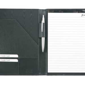 A5 Leather Organiser Including A5 Pad - PDC/G/9QR-IG8T3 - Image 1
