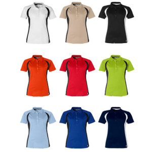 Apex Ladies Golf Shirt - PDC/C/OGO-37LWH - Image 2