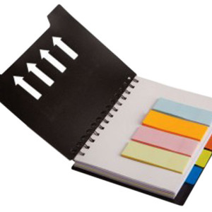 Spiral Notebook With Sticky Notes And Flags - PDC/G/TTY-XIH40 - Image 1