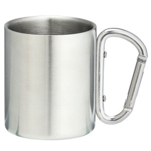 220ml Double Wall Stainless Steel Mug - PDC/G/29D-T3FFU - Image 1